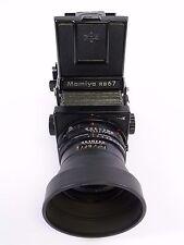 "Mamiya RB67 Pro S Kit with 127MM F3.8 ""C Lens, WLF, & Pro S 120 Magazine, in EC"