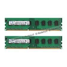For Samsung 8GB 2X 4GB PC3L-12800 DDR3-1600MHz 240pin DIMM Desktop Memory RAM