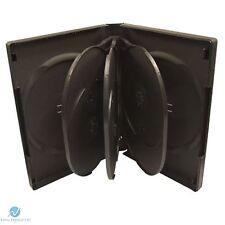 50 X 8 Manera Negro DVD 27 mm columna vertebral posee 8 discos en blanco nuevo caso de reemplazo