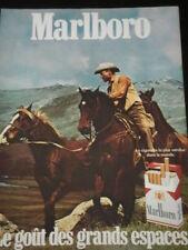 1975 - MARLBORO TOBACCO AD - PUBLICITE TABAC - ANUNCIO TABACO - FRENCH - 3247