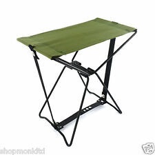 Pliable camping poche chaise pliable outdoor replier tabouret pêche jardin