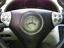 Carbon Fiber Look Multi Function Switch Cover : fits Mercedes C230 C320 C55 SLK