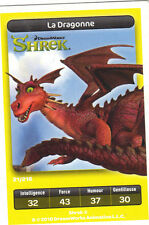 Carte Carrefour Dreamworks n° 21/216 - La dragonne - Shrek