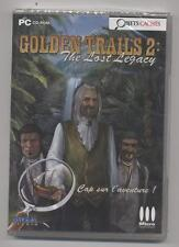 NEUF JEU PC OBJETS CACHES GOLDEN TRAILS 2 : THE LOST LEGACY SOUS BLISTER
