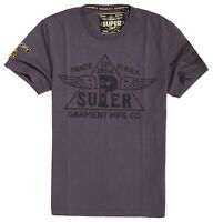 SUPERDRY PREMIUM WORK WEAR TEE Furnace Grey
