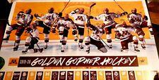 Minnesota Golden Gophers Men'S 2019-2020 Hockey Schedule Poster! Nm/Mt.2021 #6