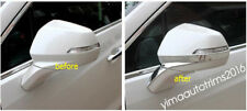 Accessories For Cadillac XT5 2016-2018 Side Door Rearview Mirror Strip Trim Kit