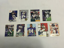 Lot of 9 RANDY MOSS Assorted Football Cards