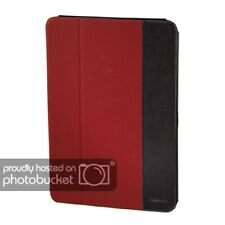 Hama Portfolio Samsung Galaxy Tab 10.1, 10.1N, 2, Rot/Schwarz Hülle Aufsteller