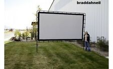 LARGE Outdoor Projector Screen BIG HUGE Movie Theater Projection Backyard TV NEW