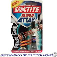 COLLA COLLANTE LOCTITE SUPER ATTAK FLEX GEL 5 g