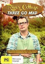 River Cottage - Three Go Mad (DVD, 2013) - Region 0