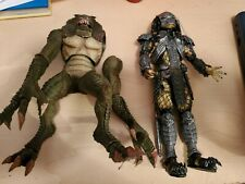 Neca Lot Masked Scar Predator Resident Evil Hunter