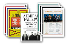 ADMIRAL FALLOW - 10 promotional posters  collectable postcard set # 1
