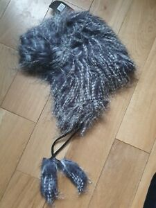 Hot Stuff Company Trapper Hat faux Fur One Size Fits Most