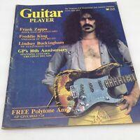 GUITAR PLAYER Magazine JANUARY 1977 Frank Zappa Freddie King Lindsey Buckingham