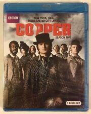 COPPER: Season Two - MINT NEW SEALED 3-DISC BLU-RAY SET!!