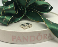 Pandora Silver Smooth Compose Earring Barrels #291002 Authentic Ale 925 Retired
