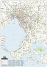 MELBOURNE & REGION MAP POSTER (100x70cm) GREATER AREA LARGE NEW