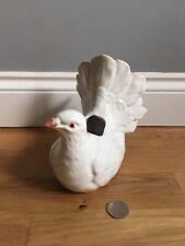 Dove Pigeon Bird Vase White Pottery Pereiras Portugal