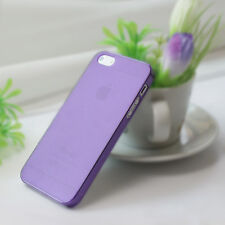 Ultra-Thin Matte Rubberized Slim Hard Back Shell Case for Apple iPhone 5S 5 5G