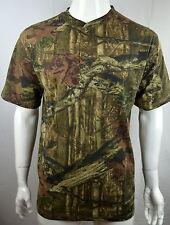 NEW Henley Hunting Camo tee Men's 2XL T-shirt S/S  Break up Infinity NEW NWOT