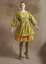 Gudrun Sjoden  embroidered Angels Cotton Tunic Size M (14)