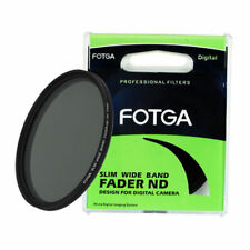 FOTGA 77mm PLANA Fader Variable ajustable Nd Filtro ND2 to ND400 Neutral