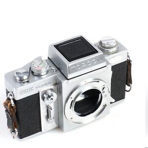 ^ Topcon RE Super 35mm Film SLR Camera w/ Waist Level Finder [Works Body Only]