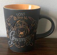 """Authentic Disney Store Grumpy """"Don't Bother Me!"""" Snow White Coffee Mug EUC"""