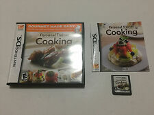 Personal Trainer: Cooking (Nintendo DS, 2008)