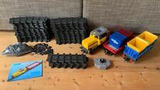 Playmobil 5258 RC-Güterzug mit Licht und Sound + 4385 Schienenerweiterung