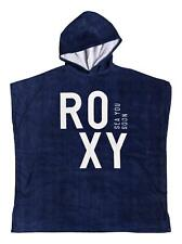 ROXY WOMENS PONCHO TOWEL.PASS THIS ON NAVY SURFER BEACH CHANGING ROBE 8S 5 BTKO