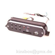 1x12V Radio + MP3 + USB Stereoanlage N3 Musik Sound für Motorrad Bike BOOT YACHT