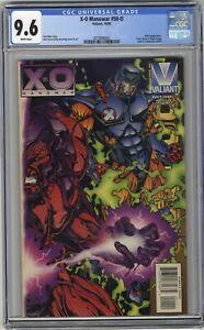 X-O Manowar #50-O Valiant CGC 9.6