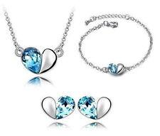 Modeschmuck-Sets aus Kristall und Metalllegierung für Damen