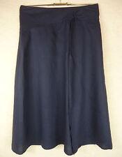 Leinene wadenlange Damenröcke im A-Linie-Stil für die Freizeit