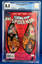 Spider-Man #3  LETHAL FOES OF SPIDER-MAN COLLECTORS  CGC GRADED 8.5 White Pages