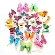 Removable Art Vinyl 3D Butterfly DIY Wall Sticker Decal Mural Home Room Decor