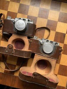Leica Cameras And Summitar Lens
