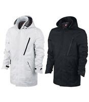 Nike Mens Sportswear Bonded Blazer Tech Waterproof Jacket White/Black/Blue New