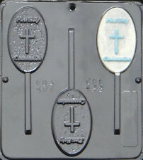 First holy Communion Lollipop Chocolate Candy Mold Religious  422 NEW