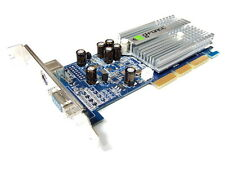 NVIDIA GeForce MX 4000 64 MB DDR, TV, VGA D-SUB, S-Video, AGP 4x