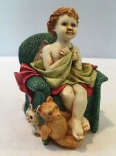 New listing Nib 1999 Angetique Joyeaux Angel Cherub Box Figurine Anse99C Harmony Kingdom Nos