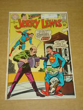 ADVENTURES OF JERRY LEWIS #105 VF (8.0) SUPERMAN X-OVER DC COMICS MARCH 1968 **