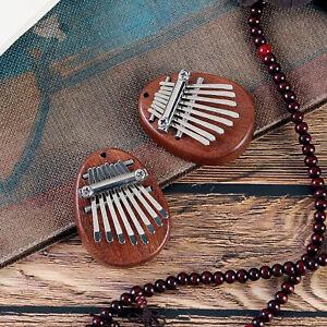 1X 8  Mini Kalimba Finger Thumb Piano Marimba Musical Instrument Supplies