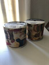 """Offray Ribbon Treasures Ribbon With Bears Two Open Spools Light Brown 2 5/8""""Wide"""