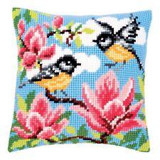 Cross Stitch Cushion Kit PN-0021768 backing optional Sunflowers Vervaco