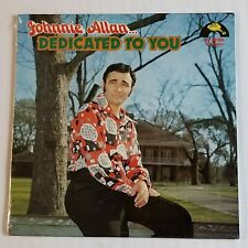 SEALED JOHNNIE ALLEN DEDICATED TO YOU LP JIN & SWALLOW RECORD CO. LP-9006