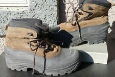 Polaris Winter Boots Brown Leather Thinsulate Winter Snow Shoes Mens 11